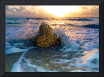 Sunrise Seascape Wisdom Beach Florida C2