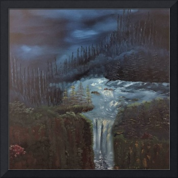 Nightfall - Natures waterfall