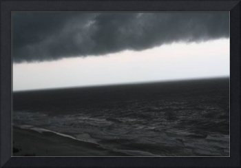 Foreboding Clouds Over Sea 4