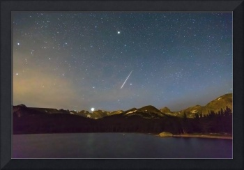 Perseid Meteor Shower Indian Peaks