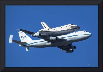Space Shuttle Endeavor ferry flight to LA (4)