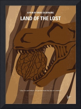 No773 My Land of the Lost minimal movie poster