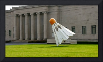 Shuttlecock at the Nelson-Atkins