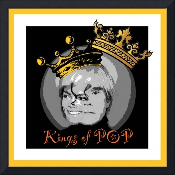 MICHAEL JACKSON / ANDY WARHOL - KINGS OF POP