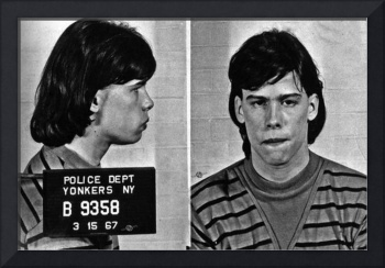 Young Steven Tyler Mug Shot 1963 Pencil Photograph