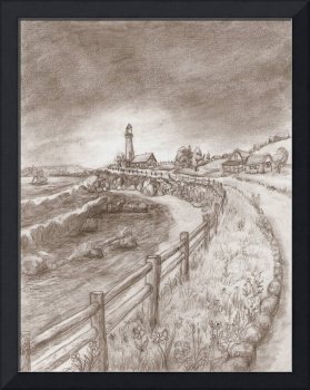 Lighthouse Road by Ave Hurley