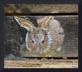 Barn Art Bunny