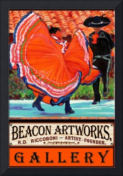 Beacon Artworks Gallery  Dancers Poster