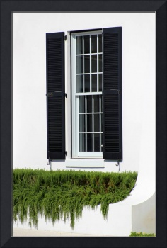 Window and Black Shutters 2016