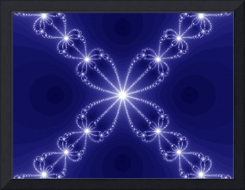 Blue Magnetic Field of Stars Fractal