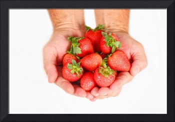 Handful of Strawberries