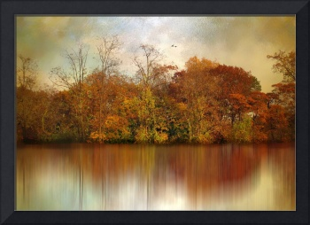 Autumn on a Pond