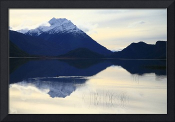 A tranquil Patagonian scene