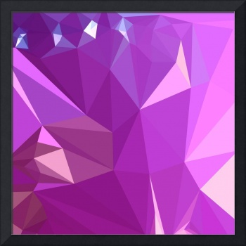 Light Medium Orchid Purple Abstract Low Polygon Ba