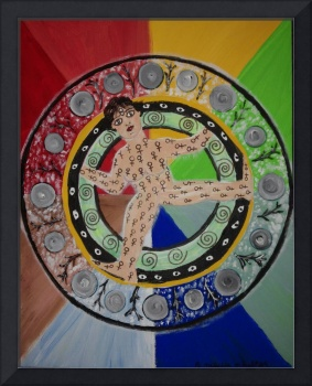 Wheel of Life, a Feminine Mandala