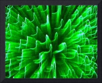 Fire Art Green Blast