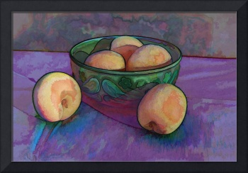 Apricots in a Bowl