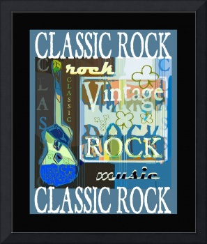 Classic Rock and Roll Poster