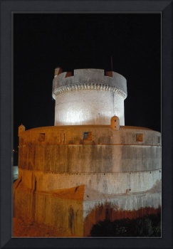 Bastion Tower At Night