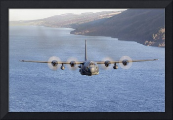 MC-130H Combat Talon II over Loch Ness, Scotland