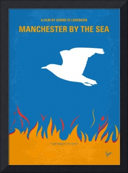 No753 My Manchester by the Sea minimal movie poste