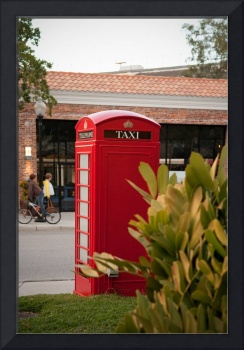 Red Phone Booth in Old Hyde Park Village