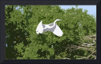 Egret Cut Out Filter