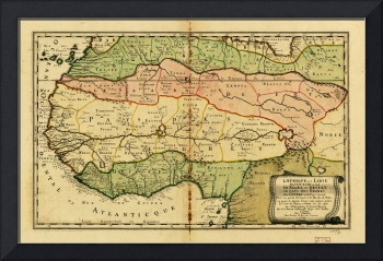 Map of West Africa (1679)
