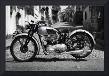 The 1939 Tiger T100 Vintage Motorcycle
