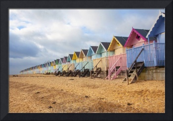 Mersea beach huts