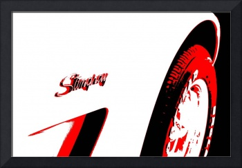 Stingray - Black White And Red Series