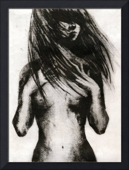 Girl Etching 4
