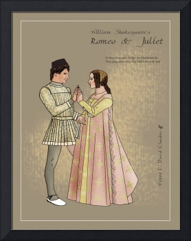 Costume Plate: Romeo and Juliet Meet