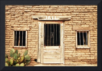 Old Western Jail House