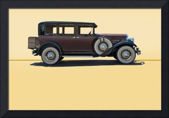 1930 Franklin Airman 145 Deluxe Sedan w/o ID