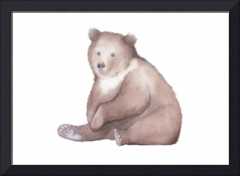 Bear Watercolor