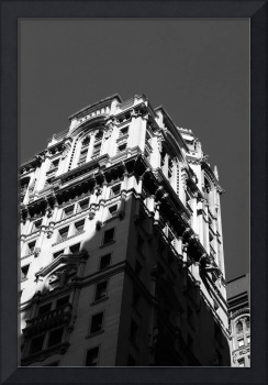 Downtown Highrise in Black and White, Manhattan NY