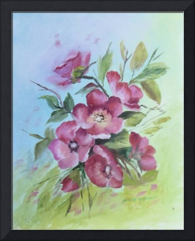 Floral Blossoms Painting
