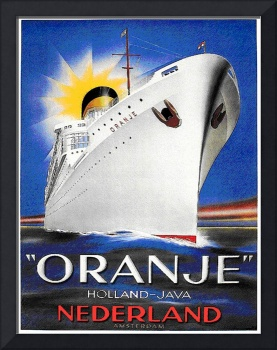 Oranje Holland-Java