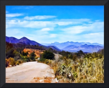 Desertscape on the Road to Piedras Verdes #1
