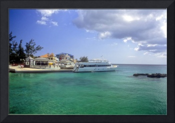 Georgetown Harbour with Cayman Agressor