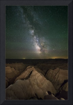 Milky Way over Badlands by Cody York_15A8659
