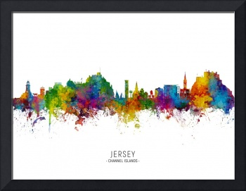 Jersey Channel Islands Skyline