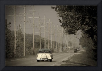 Route 66 near Godley. Illinois. Alan Copson © 2007