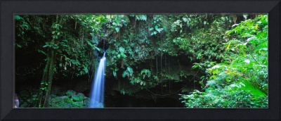 Waterfall Dominica Windward Islands