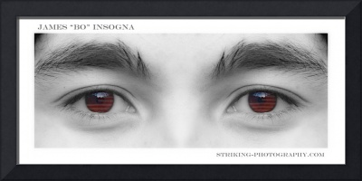 A Son's Eyes Poster Print