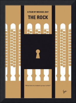 No339 My The Rock minimal movie poster