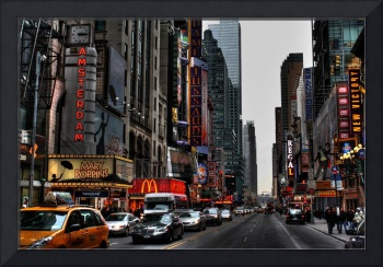 42nd Street, Times Square New York