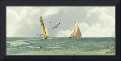 Two Sailboats