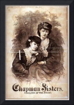 Chapman Sisters, violets of the stage